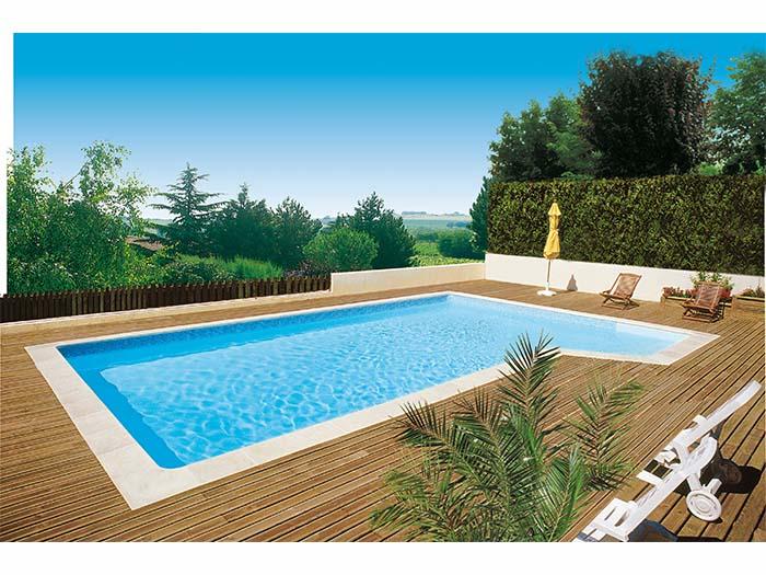 ta-готовый бассейн на природе