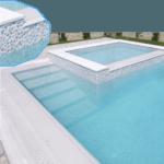 отделка бассейна под камень