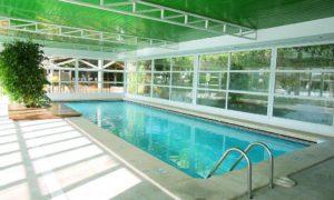 Бетонный бассейн с отделкой плиткой