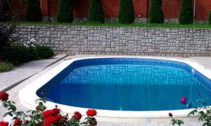 бассейн 8 на 5 м.